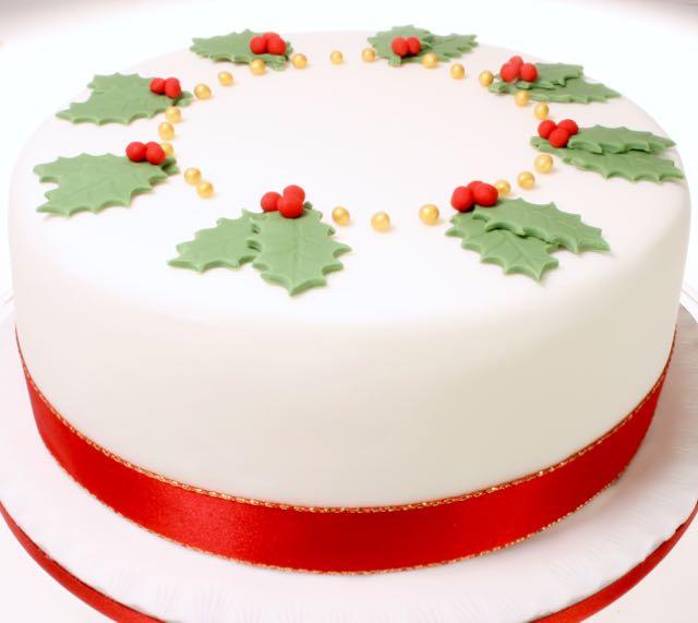 Christmas Cake Ideas Uk