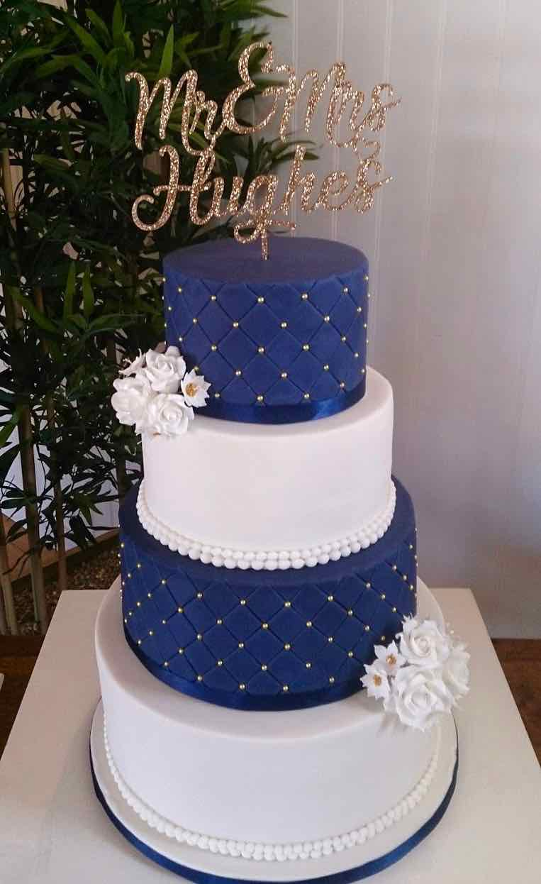 wedding cake ideas navy blue serendipity cake company wedding birthday celebration cakes 22926