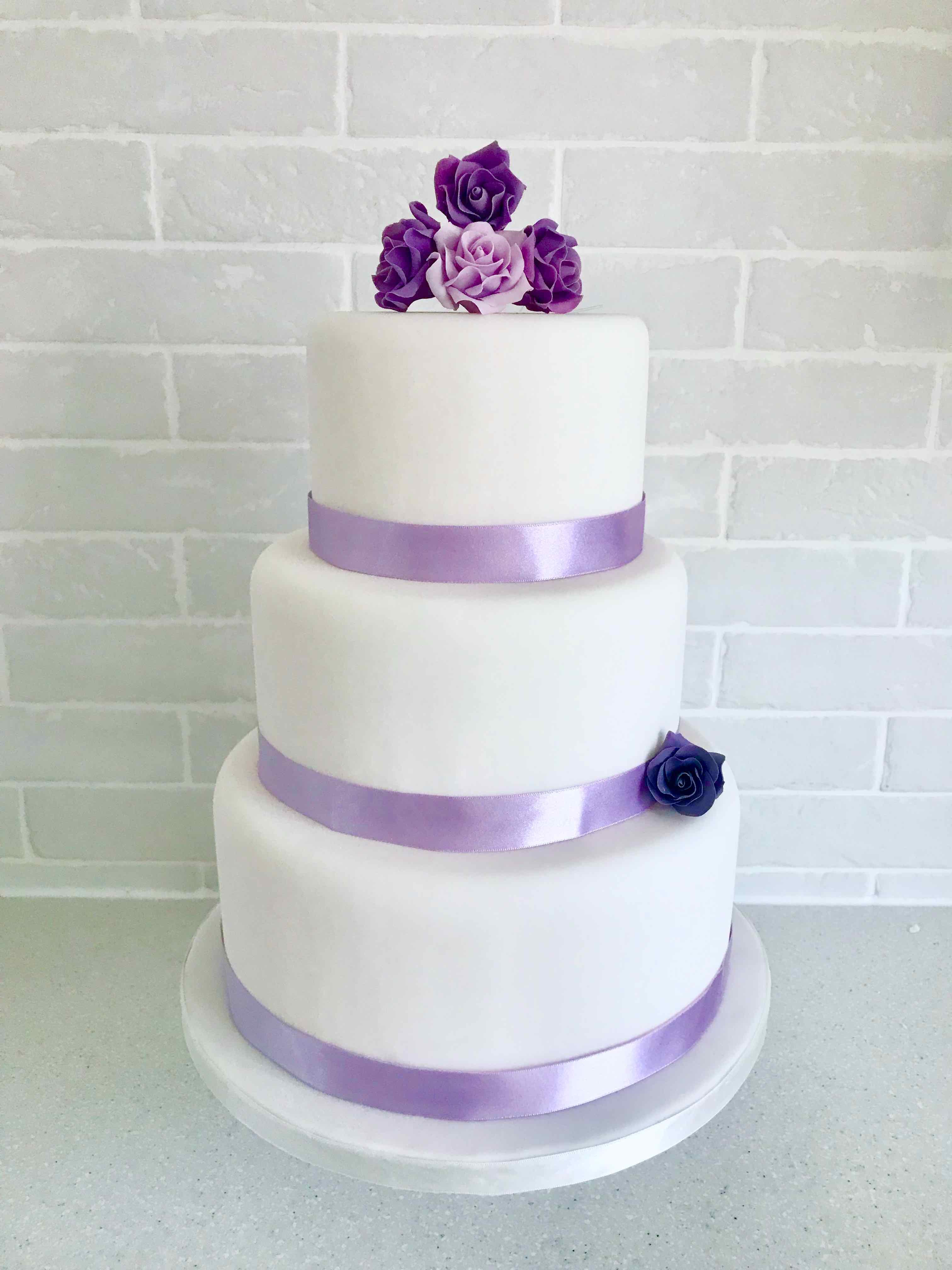 Serendipity Classic 3 Tier Wedding Cake Serendipity Cake Company